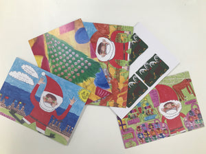 Botany Team 5 Pack Christmas Cards