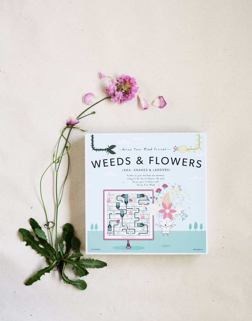 Weeds and Flowers Board Game