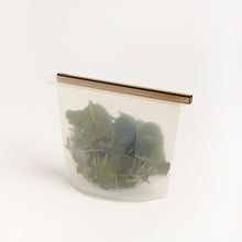 Load image into Gallery viewer, Sustainable Silicone Reusable Ziplock Bag