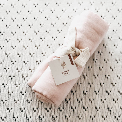 Blush | Cotton Swaddle