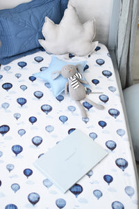 Cloud Chaser | Fitted Cot Sheet