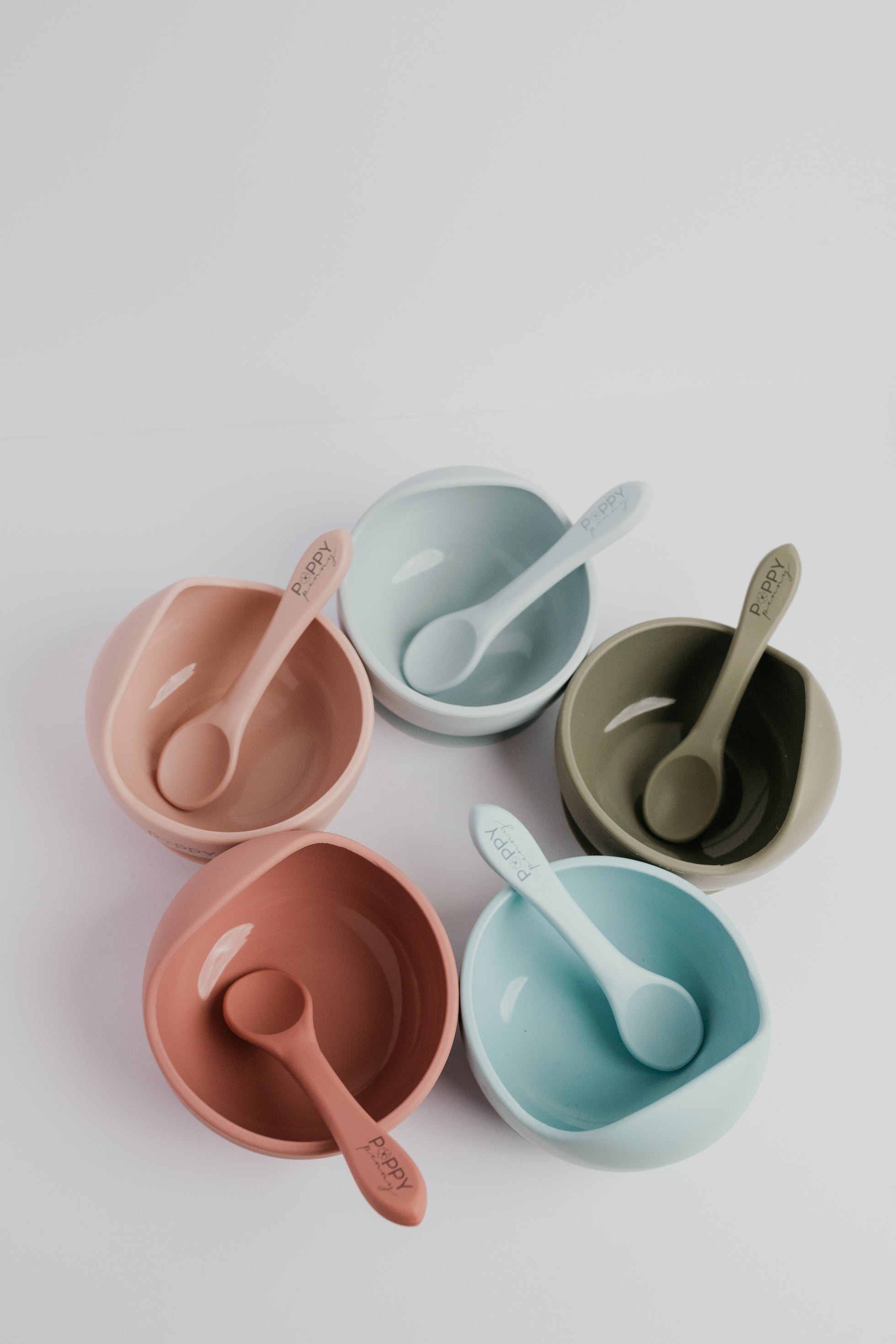 Silicone Bowl & Spoon Set