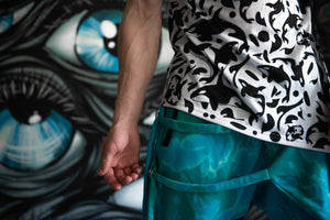 Acid Blue Assassin Pants