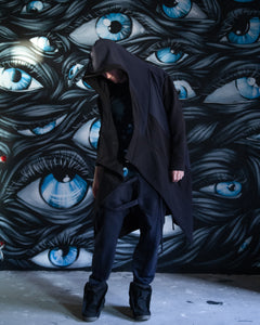 Dark Blue Assassin Robe