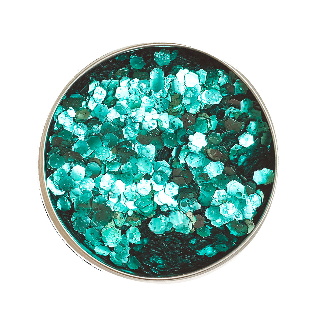 COSMIC SIREN GREEN ECO GLITTER