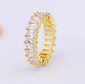 Saint Louis rectangle eternity ring