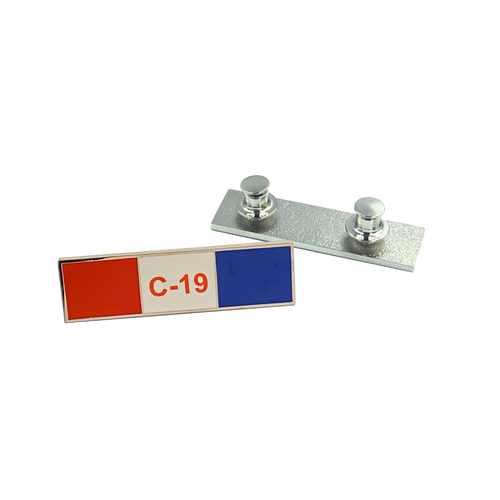 Pandemic Commendation Bar Pin, Police, EMT, Paramedic, Nurse, Essential Worker, Fire Fighter CL2-011