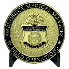 Load image into Gallery viewer, CBP Field Operations EMS ofo Field Ops cbp Officer Emergency Medical Services EMT BL9-015