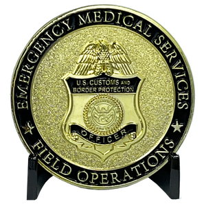CBP Field Operations EMS ofo Field Ops cbp Officer Emergency Medical Services EMT BL9-015