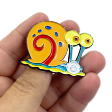 Load image into Gallery viewer, Gary the Snail Mask Pin inspired by Sponge Bob EE-017