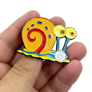 Gary the Snail Mask Pin inspired by Sponge Bob EE-017