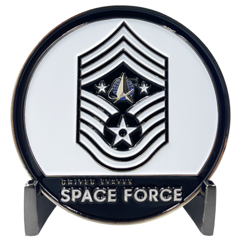 CHIEF MASTER SERGEANT ROGER A. TOWBERMAN. Chief Master Sergeant Roger A. Towberman Space Force Command Senior Enlisted Leader Challenge Coin Trump CL7-14
