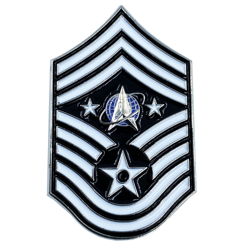 United States Space Force Pin U.S. Department of the Air Force Senior Enlisted Advisor Chief Master Sergeant Rank CL7-10