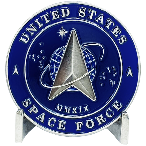 Space Force Challenge Coin United States Air Force USAF MMXIX US Space Force EL3-014