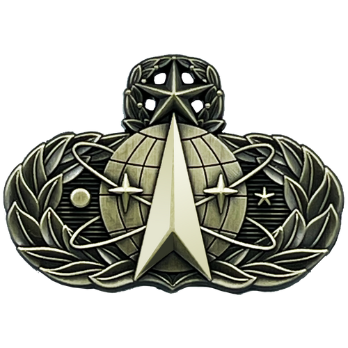 Space Force Ops United States Air Force USAF Master Space Operations Master Badge 1.625