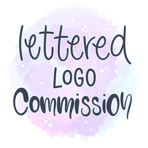 Digital Lettered Logo Commission (custom artwork)