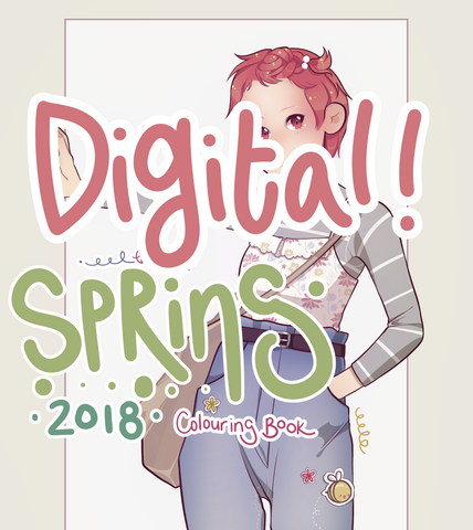 Spring 2018 Colouring Book Zine - Digital copy