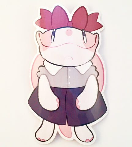 Tulip the Tortoise Big Glossy Sticker