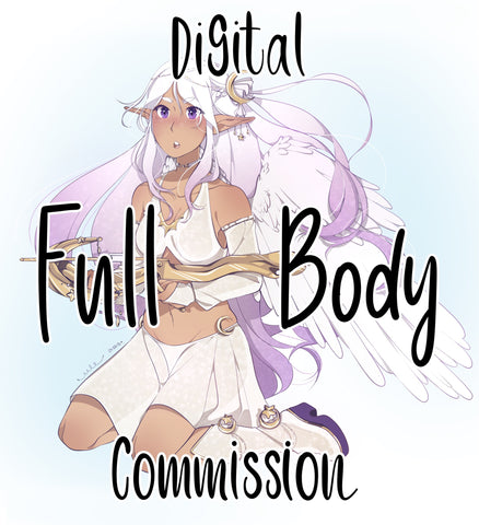 Digital Full-Body Commission (custom artwork)