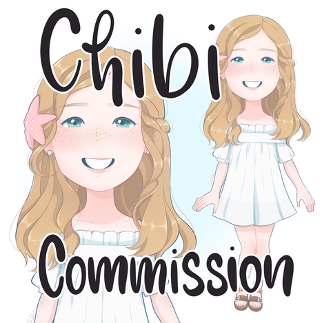 Digital Chibi Commission (custom artwork)