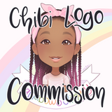Digital Chibi Logo Commission (custom artwork)