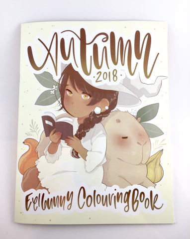 Autumn 2018 Colouring Book Zine