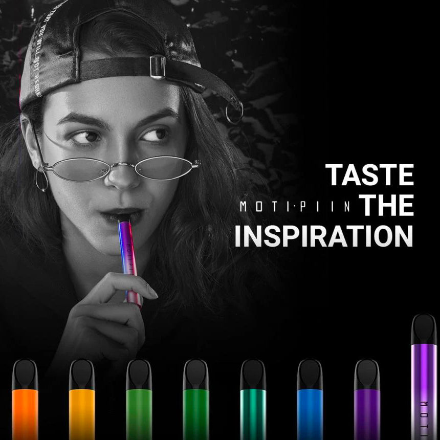 Taste the Inspiration: MOTI Launches New Product MOTI PIIN to Colorize Users' Experience