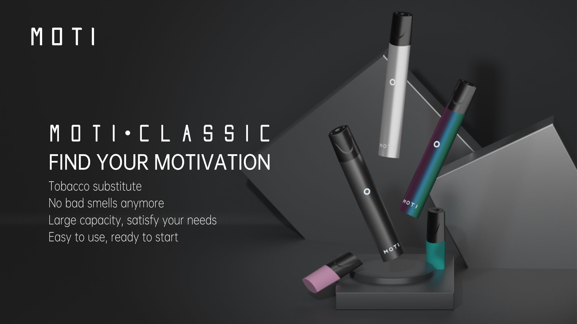 MOTI Classic e-cig smoking alternative