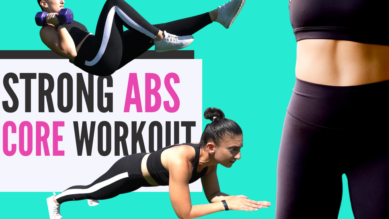 AB WORKOUT With Weights For Women // GET RESULTS WITH THESE CORE MOVES!