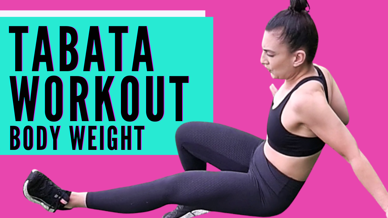 TABATA WORKOUT For Women // Full Body Weight ONLY (FREE WORKOUT)