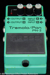 Boss PN-2 Tremolo/Pan 1990 s/n ZB65496, as used by Andy Bell ( Ride 1996 )