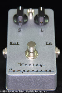 Keeley Compressor 2 Knob s/n 35463 USA , famous users include Matt Bellamy MUSE.
