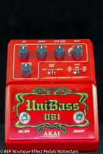 Load image into Gallery viewer, Akai UB-1 UniBass s/n 70045-02016 Harmonized Bass Distortion