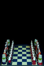 Load image into Gallery viewer, S.A.C. Diamond Jubilee 1952 - 2012 House of Windsor Chess Pieces
