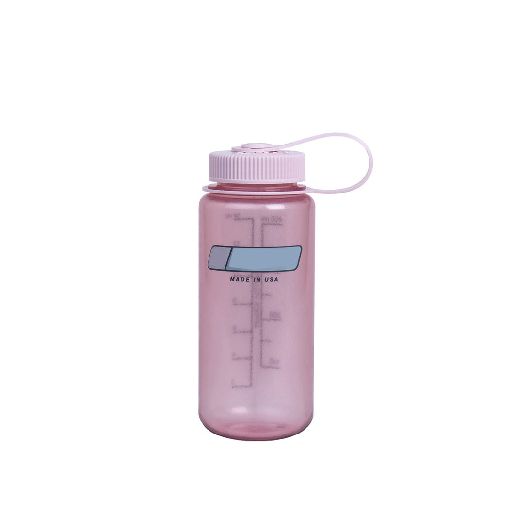 16 Oz Personalised Water Bottle (Fire Pink)