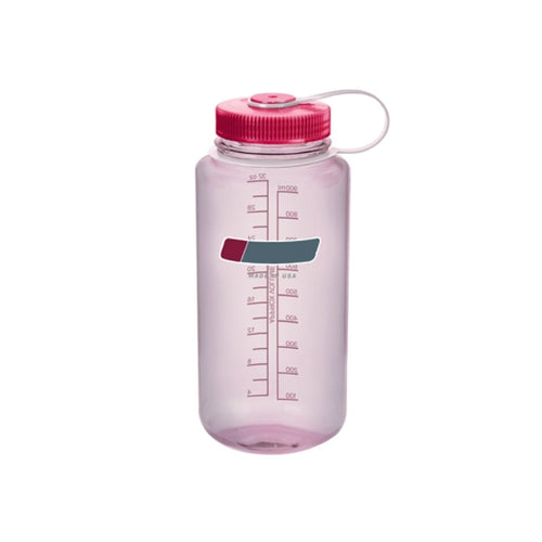32 Oz Personalised Water Bottle (Clear Pink)