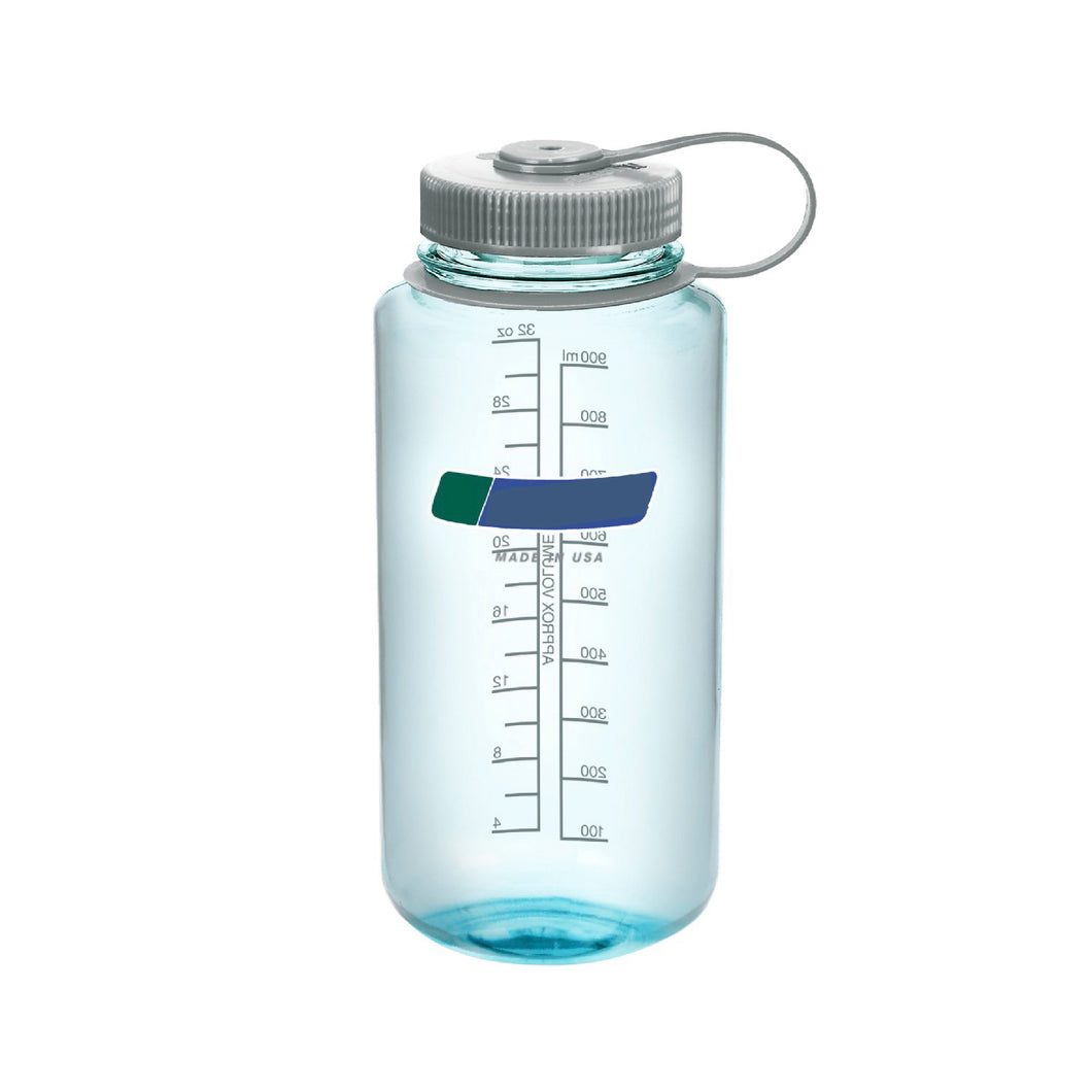 32 Oz Personalised Water Bottle (Seafoam)