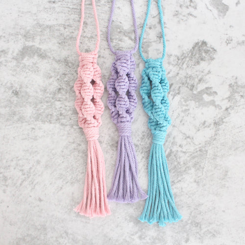 Macrame Accessories (Trio-Spiral Series)