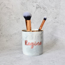 Load image into Gallery viewer, Makeup Brush/Stationery Holder (Charcoal)