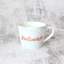 Load image into Gallery viewer, Oblique Coffee Mug (Light Blue)