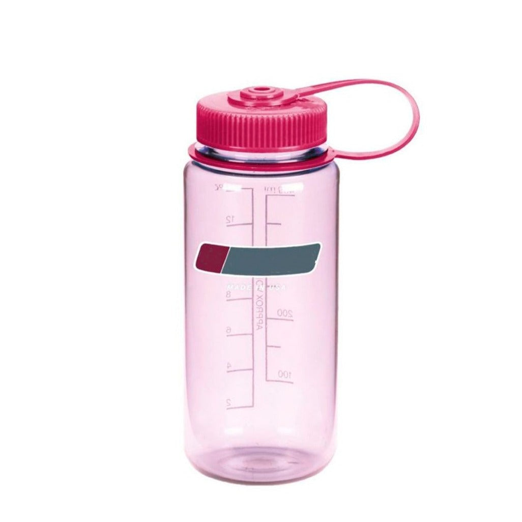 16 Oz Personalised Water Bottle (Clear Pink)