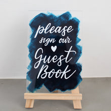 Load image into Gallery viewer, Wedding Signage - Guestbook (Acrylic)