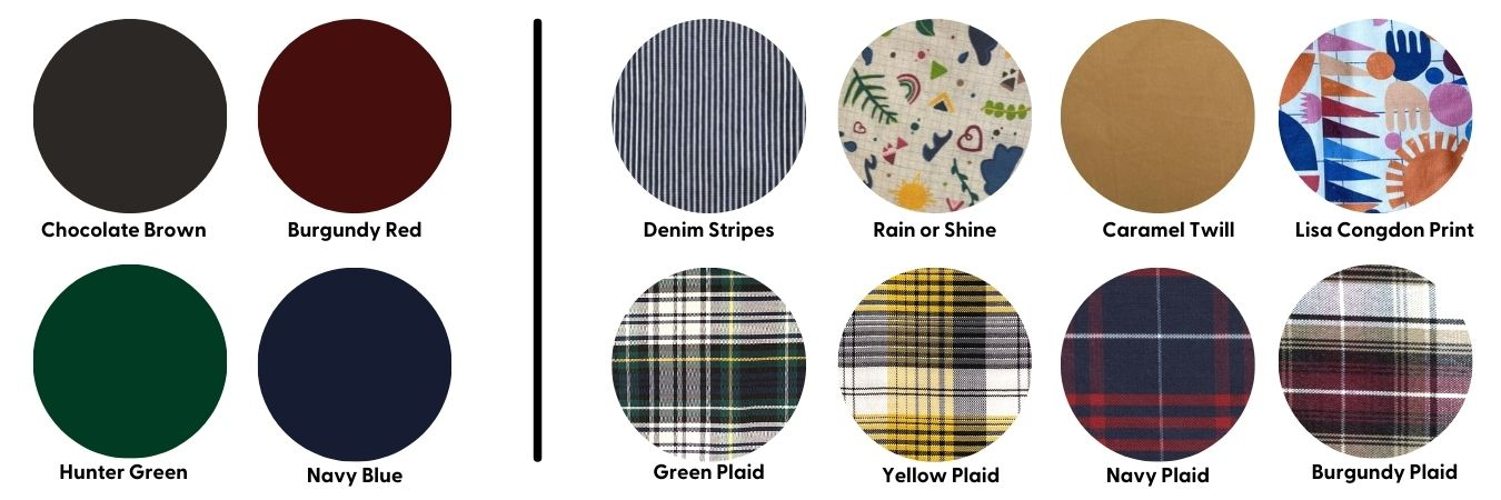 custom dog jacket color and pattern options