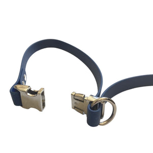 Waterproof Biothane Leash - Navy - Wag Theory