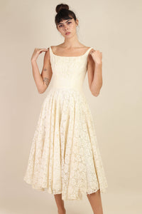 Cream Lace New Look Dress