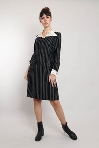 40s Vampy Ruched Dress