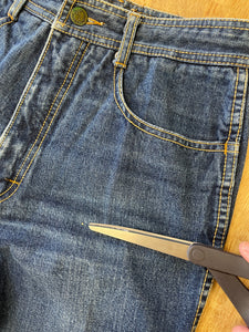 70s Patchwork Square Dance Dress