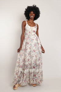 40s Velvet Opera Coat With Mink Collar