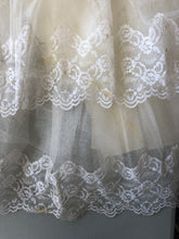 Tiered Lace Wedding Gown