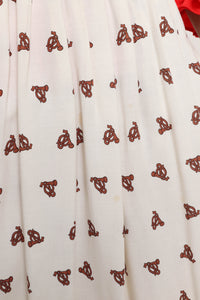 Gunne Sax Strapless Dress
